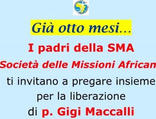 P. Gigi Maccalli, già otto mesi