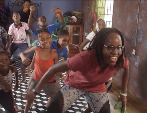 Lagos, la danza per aiutare i bambini di strada