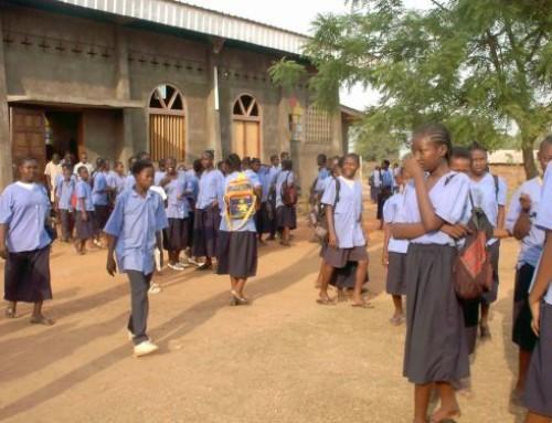 Formare giovani donne in Centrafrica
