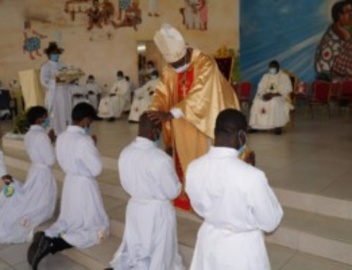 Nuovi preti e diaconi SMA in Costa d'Avorio