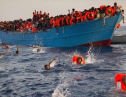 La madre e il naufragio nell'Oceano Atlantico