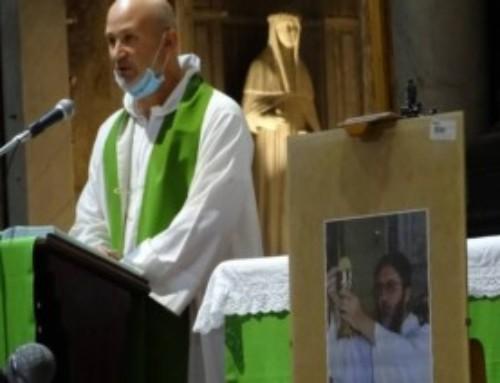 La Messa per p. Gigi Maccalli a S. Maria di Castello di Genova