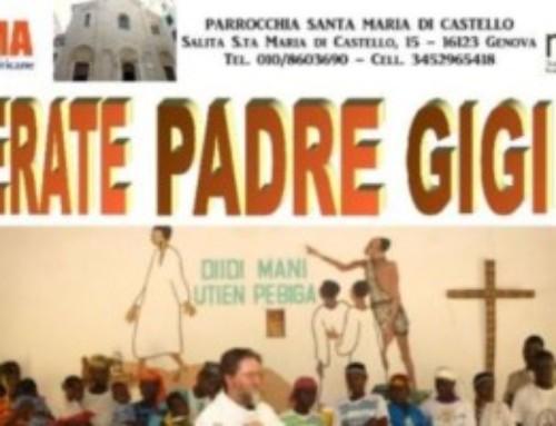P. Gigi Maccalli: una messa per la sua liberazione a Genova il 21 settembre