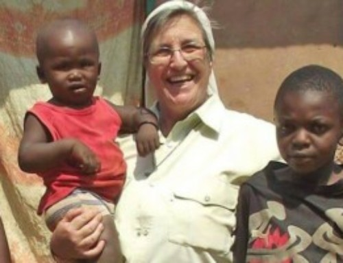 Suor Elvira e i giovani detenuti di Bangui