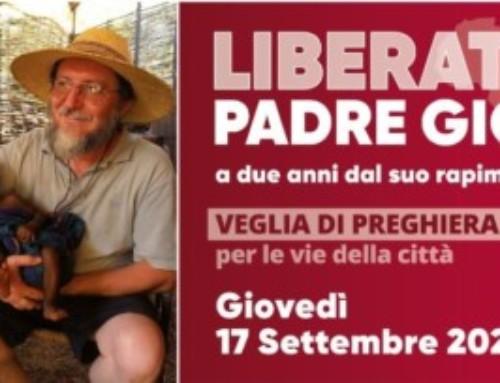 Veglia per p. Gigi Maccali nella cattedrale di Crema, il 17 settembre