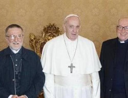 P. Gigi, il papa mi ha detto: Noi abbiamo sostenuto te, ma tu hai sostenuto la Chiesa