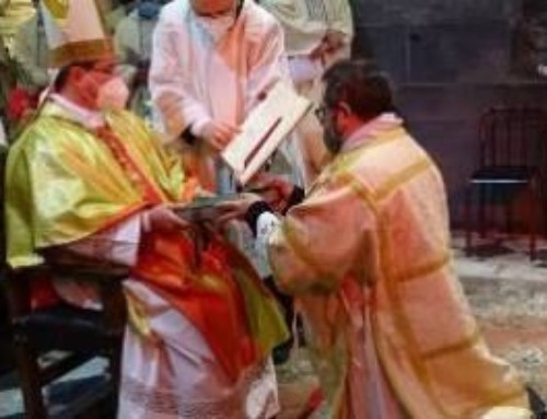 Davide Camorani ordinato diacono per la missione