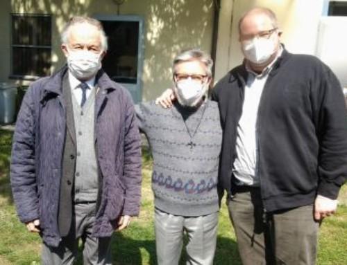 P. Pier Luigi Maccalli accolto dalla comunità di Nerviano