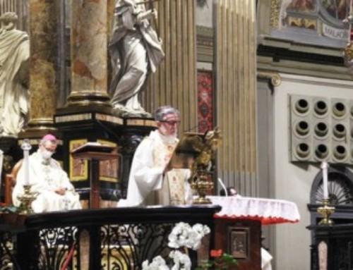 Con p. Gigi Maccalli al Santuario di Caravaggio, per dire grazie a Maria