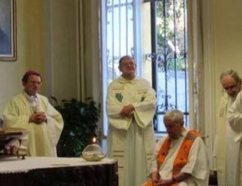 I padri della SMA concludono il loro incontro insieme al vescovo di Savona