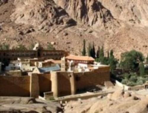 L'antico Monastero di Santa Caterina ai piedi del monte Sinai