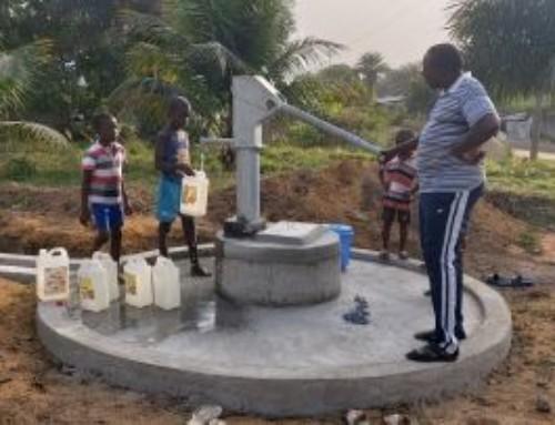 Progetti di SMA Solidale realizzati: Acqua potabile per il villaggio di Dixville