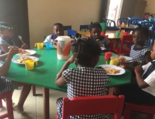 Progetti di SMA Solidale realizzati: pasti caldi per i bambini di Abobo