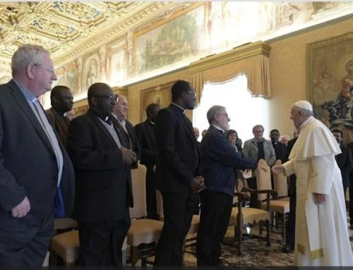 Il Papa incontra i padri SMA e prega per p. Maccalli